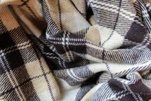 Checkered Soft Warm Beige Plaid