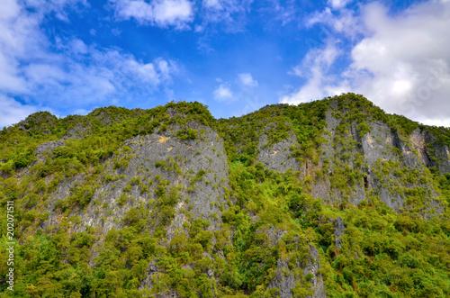 Fotografie, Obraz  Inaccessible rocks of Sangat Island, Busuanga Island, Philippines