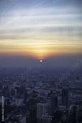 Photo  Bangkok Sunset