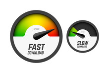 Fast And Slow Download Speedom...