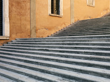 Stone Steps In Italy