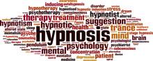 Hypnosis Word Cloud