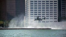 Osprey Aircraft Landing In NYC