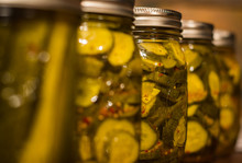 Homestead Canning Pickles, Pep...
