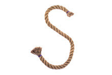 Alphabet From The Rope Letter S