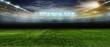 Leinwandbild Motiv Soccer bal.football ..