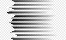 Horizontal Speed Lines Pattern...
