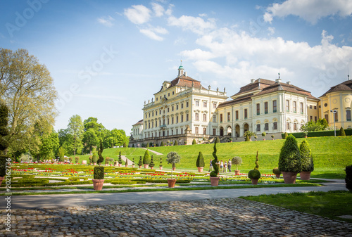 Foto The Residenz palace in Ludwigsburg, Germany