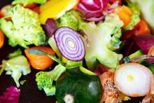 Leftovers Of Freshly Cut Carro...