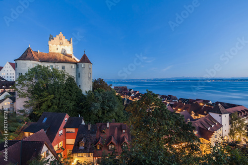 Germany, Baden-Wuerttemberg, Lake Constance, Meersburg, Meersburg Castle, lower city