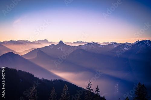 Fototapeta Wallberg Sunrise obraz na płótnie
