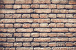 Brick wall texture or brick wall background.