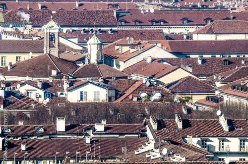 Fototapeta Dachy miasta obraz