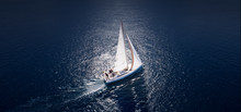 Amazing View To Yacht Sailing ...