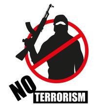 Terrorist With Weapon. Stop Te...