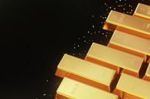 Stacked Gold Bars,golden Ingot...