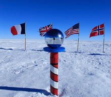 The South Pole, Antarctica