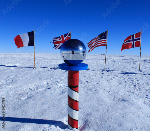 Photo The South Pole, Antarctica