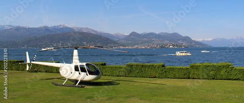 Elicottero sul lago - vip