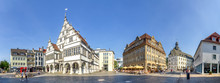 Paderborn, Rathaus Und Marienkirche
