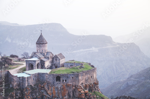 Ancient monastery Tatev in Armenia. Canvas-taulu