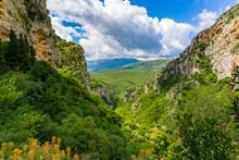 Lousios Gorge In Western Arcad...
