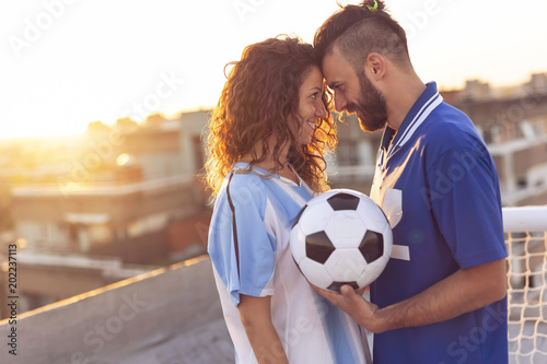 Football and love