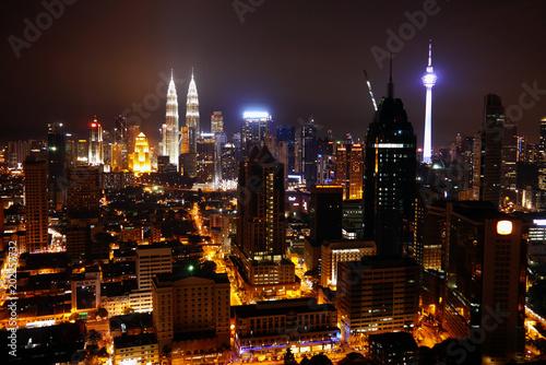 Kuala Lumpur City. Malaysia. Poster