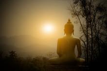Buddha Statue On The Mountain ...