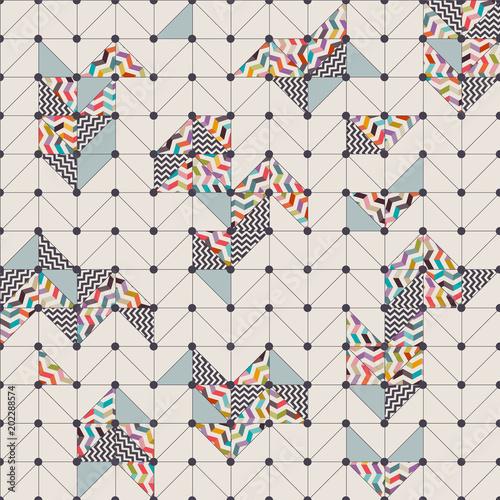 wektorowa-siatka-z-kolorowymi-wzorami-i-roznymi-ksztaltami-geometrycznymi