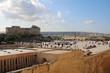 Triton Fountain Square and City Gate Valletta in Malta