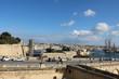 Old city wall of Valletta and Vittoriosa Il-Birgu in Malta