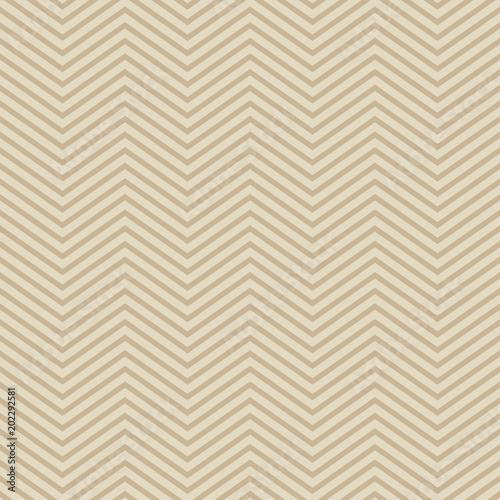 Foto auf AluDibond Boho-Stil Seamless geometric pattern. The texture of the zigzag. Scribble texture. Textile rapport.