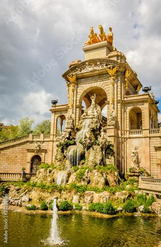 Foto op Plexiglas Artistiek mon. Parc de la Ciutadella, Barcelona, Citadel Park