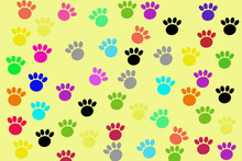 Dog Foot Wallpaper