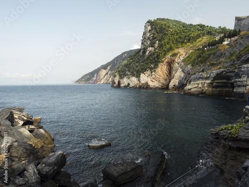 Tuinposter Mediterraans Europa Porto Venere Nature Reserve