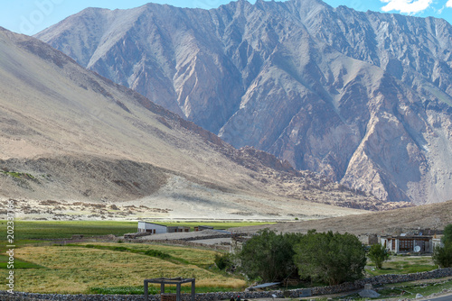 Photo Mountain and Natural Landscape, Leh Ladakh India Aug 2017