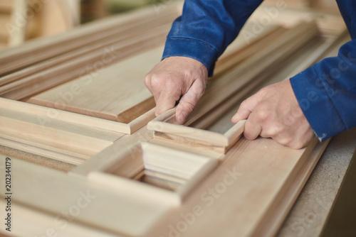 wood carpenter workman Wallpaper Mural