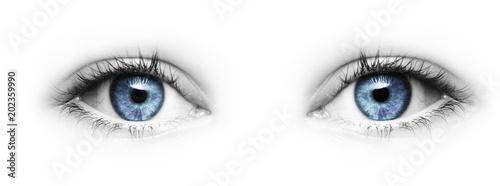 Photo  Blaue Augen