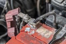 Corrosion Build Up On Car Batt...