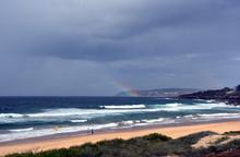Rainbow Over The Tasman Sea. S...