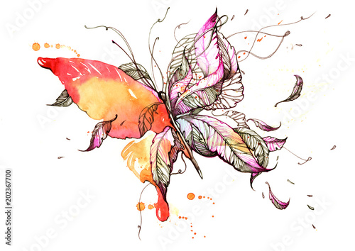 Poster Paintings butterfly