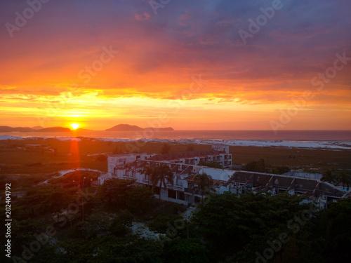 Foto op Aluminium Palermo Nascer/Por do Sol em Cabo Frio - RJ