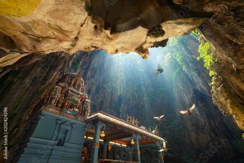 Photo  Batu Caves temple within cave in Kuala Lumpur, Malaysia
