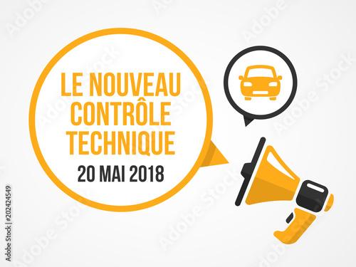 Nouveau contrôle technique - 20 mai 2018 Wallpaper Mural