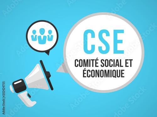 Obraz na plátně CSE - Comité social et économique