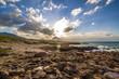 Beautiful coastline in Sicily, Italy