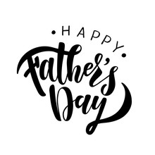 Happy Fathers Day Greeting Card Template