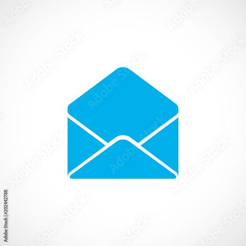 Fotografía  Open envelope vector icon