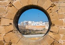 View Of Essaouira Through Hole...